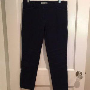GAP- Navy slim cropped ankle pant